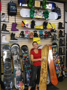 Sportsmen's Den, your snowboarding store